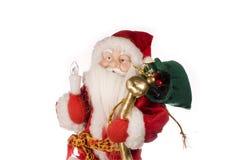 clause Santa de Noël traditionnelle image libre de droits