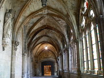 Claustro alto, Catedral de Burgos ( Spain ) Royalty Free Stock Image