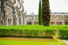 Claustro da catedral Foto de Stock