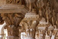 Claustro da catedral de Aix-en-Provence Fotografia de Stock Royalty Free