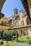 Claustro da catedral em Aix-en-Provence Fotografia de Stock