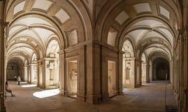 Claustro de Dom Joao III en el convento de Templar de Cristo en Tomar Fotografía de archivo libre de regalías