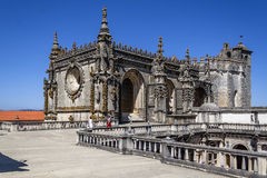 Claustro de Dom Joao III no convento de Templar de Cristo em Tomar Fotos de Stock