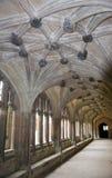 Claustro de la abadía de Lacock Fotos de archivo libres de regalías