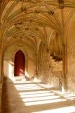 Claustro de la abadía de Lacock Imagenes de archivo