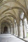 Claustro de la abadía en Soissons Foto de archivo libre de regalías