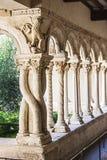 Claustro de la catedral Fotografía de archivo