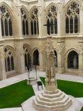 Claustro de la catedral, Burgos ( Spain ) Stock Images