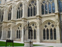 Claustro de la catedral, Burgos ( Spain ) Stock Photography