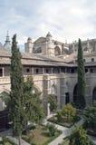 Claustro de la catedral de Toledo Foto de archivo