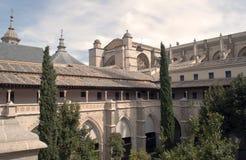 Claustro de la catedral de Toledo Fotos de archivo libres de regalías