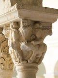 Claustro de la catedral del Aix, Francia Fotos de archivo