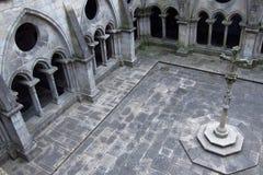 Claustro de la catedral - Oporto Imágenes de archivo libres de regalías