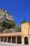 Claustro de Montserrat, España Imágenes de archivo libres de regalías