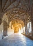 Claustro de nimos monastério do ³ de JerÃ, Belém, Lisboa, Portugal Imagem de Stock