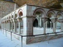 Claustro de San Juan de la Pena, Huesca (Spain) Royalty Free Stock Photography