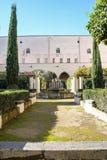 Claustro de Santa Chiara Imagen de archivo libre de regalías