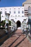 Claustro de Santa Chiara Imagenes de archivo