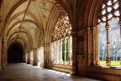 Claustro del monasterio de Batalha Foto de archivo