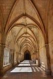 Claustro del monasterio de Batalha portugal Imágenes de archivo libres de regalías