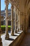 Claustro del monasterio de Batalha portugal Fotos de archivo