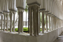 Claustro del paraíso, Amalfi Fotografía de archivo libre de regalías
