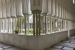 Claustro do paraíso, Amalfi Fotos de Stock Royalty Free