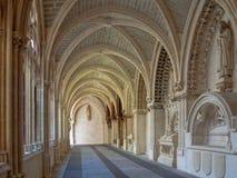 Claustro gótico - Burgos foto de archivo libre de regalías