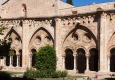Claustro gótico da catedral de Tarragona catalonia Foto de Stock Royalty Free