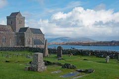 Claustro Iona Abbey Fotos de archivo libres de regalías