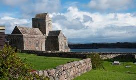 Claustro Iona Abbey Fotografía de archivo