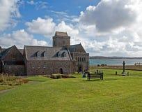 Claustro Iona Abbey Foto de archivo