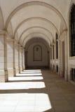 Claustro nacional del palacio de Mafra, Mafra, Portugal Imagenes de archivo