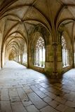 Claustro real de Santa Maria da Vitoria Monastery, Batalha, Est imagens de stock