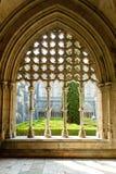Claustro real de Santa Maria da Vitoria Monastery, Batalha, Est foto de stock