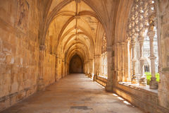 Claustro real do monastério de Batalha Fotos de Stock Royalty Free