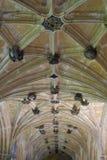 Claustros, abadía de Lacock, Wiltshire, Inglaterra Foto de archivo libre de regalías