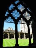 Claustros de la abadía de Westminster Imagen de archivo