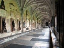 Claustros de la abadía de Westminster Imágenes de archivo libres de regalías
