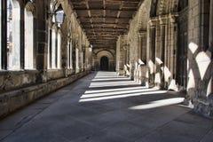 Claustros de la catedral de Durham Fotografía de archivo