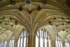 Claustros góticos del renacimiento Fotos de archivo libres de regalías