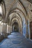 Claustros góticos en Oporto, Por Imagen de archivo libre de regalías