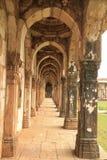 Claustros Jami Masjid, Champaner Fotografía de archivo