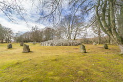 Clava Cairns Stock Image