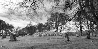 Clava Cairns Stock Photography
