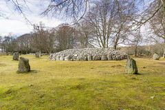 Clava Cairns Royalty Free Stock Image
