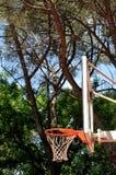 Clavada del baloncesto Imagen de archivo libre de regalías