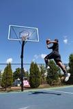 Clavada del baloncesto Imagen de archivo