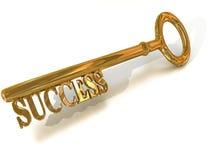 Clave al éxito Foto de archivo
