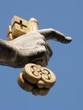 Clave al cielo Imagen de archivo libre de regalías